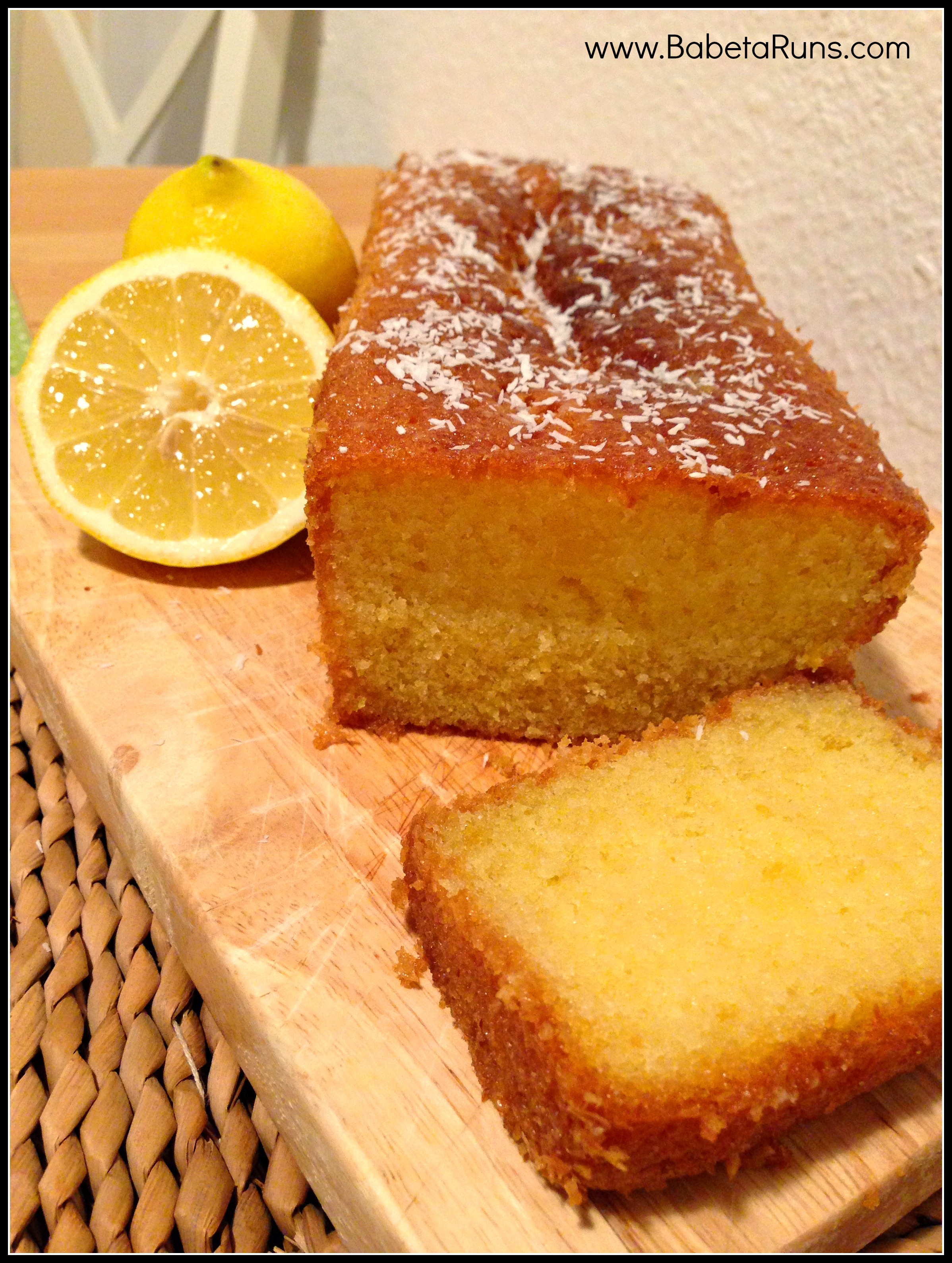 Simple Lemon Drizzle Cake Recipe