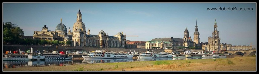 Dresden river view