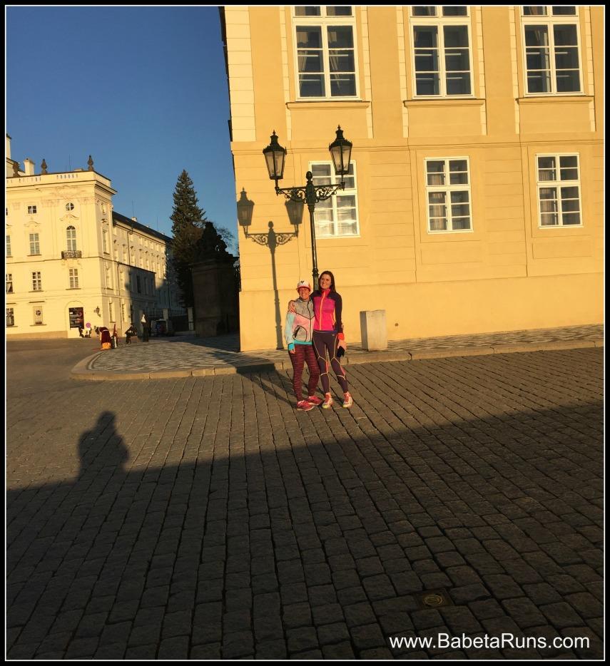 running with sarah